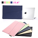 High Quality Waterproof PU Leather Laptop Sleeve Bag Notebook Case Cover for Apple Macbook Pro Air 11.6