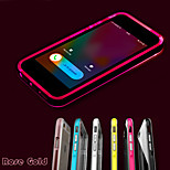 Call LED Blink Transparent TPU Combo Back Cover Case for iPhone 5/ 5S (Assorted Colors)