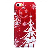 Christmas Tree UV Varnish PC Material Christmas Phone Case for iPhone 5 /5S