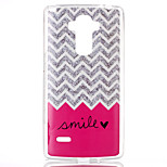 Wave smile Pattern TPU Phone Case for LG Stylo LS770
