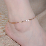 Women's Anklet/Bracelet Alloy Fashion Infinity Silver Gold Women's Jewelry For Party Daily Casual Sports 1pc