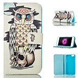 Pattern Card Stand Leather Case for IPhone 6/6S