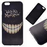 Teeth Pattern Hard Back Case for iPhone 6