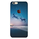 Perfect Close Flying Deer TPU Material Soft Phone Case for iPhone 6/6S
