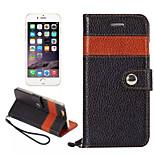de color a juego de cuero real soporte de la tarjeta soporte de la carpeta del bolso de la cubierta de la manga superior de lujo para el