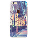Perfect Close Street TPU Material Soft Phone Case for iPhone 6 Plus/6S Plus