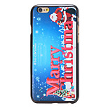 Christmas Style White Christmas Pattern PC Hard Back Cover for iPhone 6