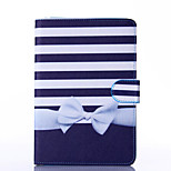 Bowknot Pattern PU Leather Full Body Case with Stand for iPad  Mini 4