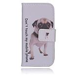 Bulldogge PU-Material Handtasche Geldtelefonkasten für iphone 5 / 5s