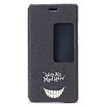 Smiling Face Pattern PU Material Full Body Case for Huawei P8 Young