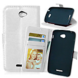 Crazy Horse Flip PU Leather Stand Phone Case Cover with Card Slots for Sony Xperia  E4 / E4 Dual (Assorted Colors)