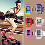 cobertura de ginásio exercício colorido com treino cinto sintonia correndo esportes braçadeira para iPhone 4 / 4S (cores sortidas)