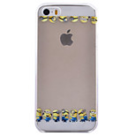 Yellow People Pattern TPU Soft Phone Case for iPhone 5/5S
