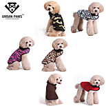 URBAN PAWS Six Colors Dog Jacket Pets Winter Coat with Cozy Furry Lining  for Dogs and Cats(Assorted Colors and Sizes)
