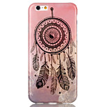 Feather Dreamcatcher Pattern TPU  Back Cover Case for iPhone 6/iPhone 6S
