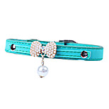 Fashion Leather Pet Collars for Cats,Baby Puppies Dogs,Adjustable 8.0