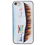 Christmas Style Winter Village Pattern PC Hard Back Cover for iPhone 5/5S