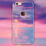 Scenery Clouds Pattern TPU Material Phone Case for iPhone 6 Plus/6S Plus