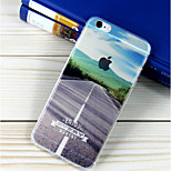 Highway Pattern TPU Soft Case for iPhone 6/6S
