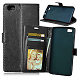 Crazy Horse Flip PU Leather Stand Phone Case Cover with Card Slots for Huawei Ascend P8 Lite (Assorted Color)