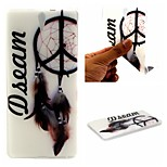 Dream Catcher Words Phrase Pattern 0.6mm Ultra-Thin Soft Case for Sony C5