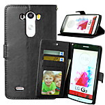 Crazy Horse Magnetic Leather Phone Stand Case Cover with Card Slot for LG G3 D850 D855 LS99