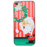 Christmas Style Garland Santa Pattern PC Hard Back Cover for iPhone 5/5S