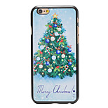 Christmas Style Nice Christmas Tree Pattern PC Hard Back Cover for iPhone 6