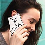 nuevo desprecio a los gatos en el bolsillo de los casos de gatos para iphone 5 / 5s (colores surtidos)