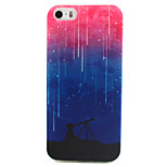 Star Painting Pattern TPU Soft Case for iPhone 5/5S
