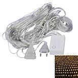 JIAWEN® 1.5 M 96 LED Dip Branco Quente / Roxo Conetável 4 W Cordões de Luzes AC220 V