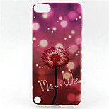 Dandelion Painting Pattern TPU Soft Case for iPod Touch 5
