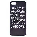unicorn malerei muster PC Kasten für iPhone 5 / 5s