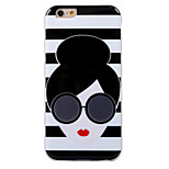 2015 New Alice Olivia Stacey Face TPU Soft Case for iPhone 6 4.7inch