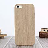 legno sottile in pelle morbida cuoio dell'unità di elaborazione per il iphone 5 / 5s (colori assortiti)