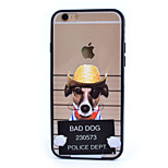 Hat Dog TPU and PC Combo Phone Case for iPhone 6/ 6S