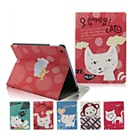 Happy Group Animal with Stand PU Leather Case for iPad Air(Assorted Colors)