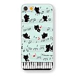 Musik-Katze mustern Hülle für das iPhone 5 / 5s