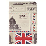 The Envelope Design of London PU Leather Full Body Case with Stand and Card Slot for iPad mini 4