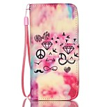 Painted PU Phone Case for iphone5/5S