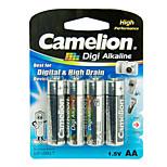 Camelion Digi Alkaline Primary Batteries Size AA (4pcs)