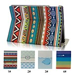 Ethnic Style with Fold and Stand Function Smart Cover Case for iPad Air(Assorted Colors)