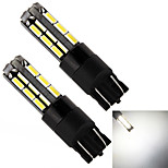 Yobo t10 194 168 501 27smd 4014 9W 720lm condus bec auto (2-Pack, dc 12-24V)