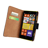 Solid color Light Surface Pattern Hard Case with Magnetic Snap and Card Slot for Nokia Lumia 625