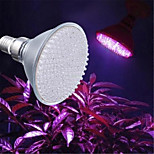 hry® 8w e27 168led 800lm 143red + 25blue свет завод расти растущий гидропоника колбы лампы (220v)