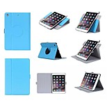 Rotation Simple Flip Case Support Leather Case Computer Protection Shell for iphong ipad mini 4 Assorted Colors