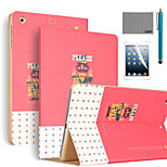 LEXY® Refuse Evil Pattern PU Leather Flip Stand Case with Screen Protector and Stylus for iPad Air/iPad 5