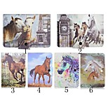 Horse Pattern High Quality PU Leather with Stand Case for 7 Inch Universal Tablet