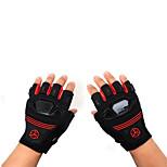 Handschuh Radsport / Fahhrad Alles Fingerlos Antirutsch / Easy-Off Schlaufe / Atmungsaktiv / Schützend Frühling / Sommer / HerbstRot /