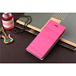 Wood Grain Clamshell Phone Leather Cases for IPHONE 6